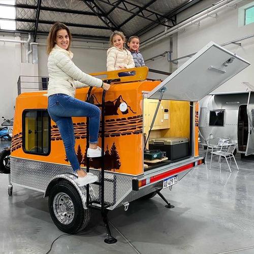 mini casa rodante patentable homologada