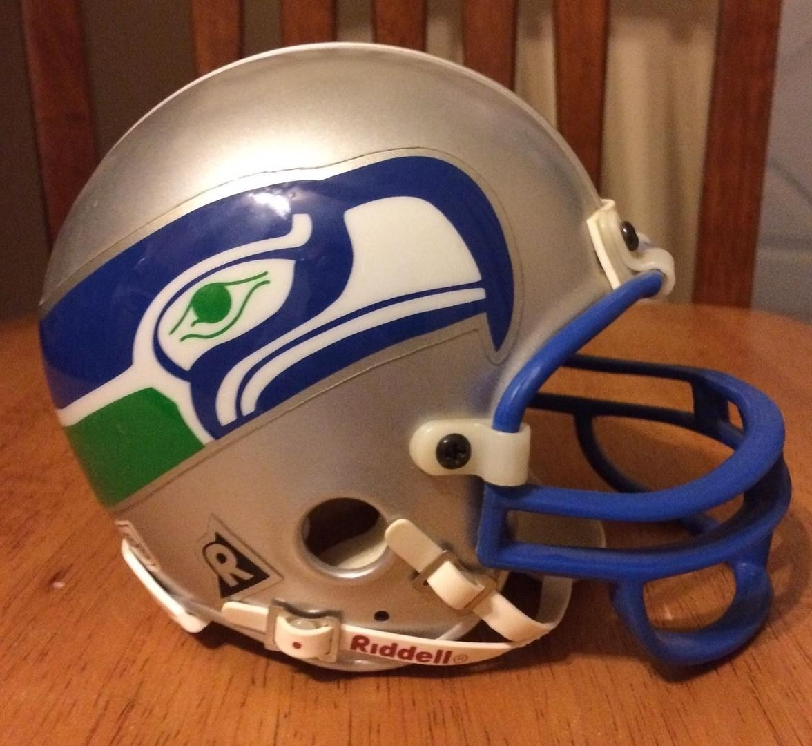 988e182fcc71a mini casco nfl - seattle seahawks - mini helmet riddell. Cargando zoom.