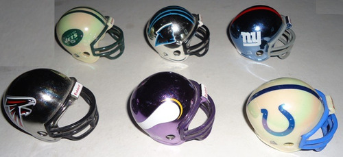 mini cascos riddell pocket chrome originales  nfl