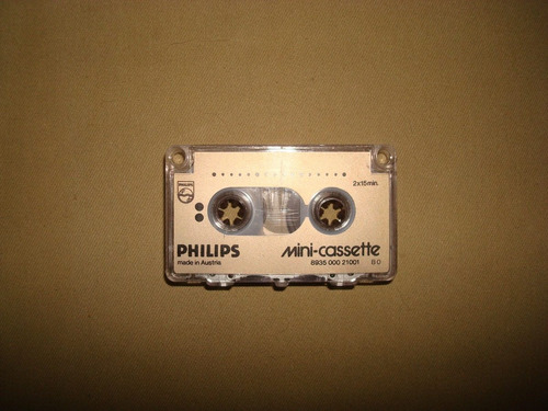 mini cassette philips
