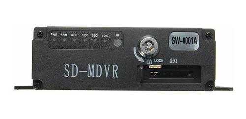 mini cctv 2 canales móvil taxi bus vehículo seguridad dvr de