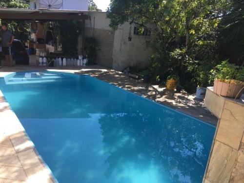 mini chácara c/ piscina e 2 dorm. em itanhaém! ref 4255-p