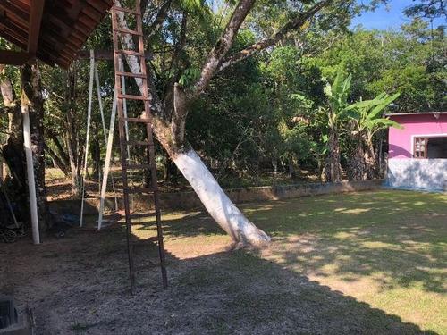 mini chácara no jardim são fernando, em itanhaém - ref 3944