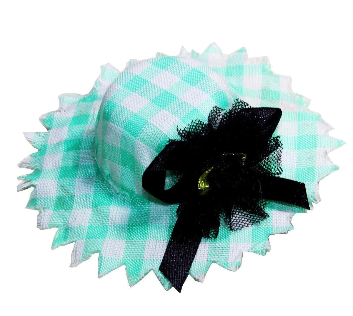 mini chapéu caipira feminino com laço festa junina delicado. Carregando  zoom. 880491754ad