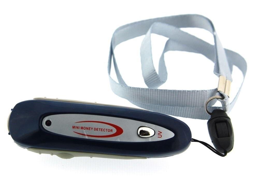 Mini chaveiro lanterna e luz negra detector de notas - Detector de luz ...