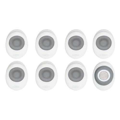 mini clips magnéticos good grips de oxo (paquete de 8) -