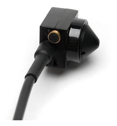 mini câmera espia pinhole com áudio 3.7mm 90 graus ahd 720p