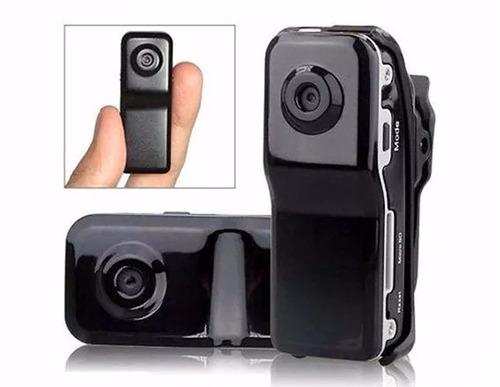 mini câmera gravador espião audio video + cartão sandisk 8gb
