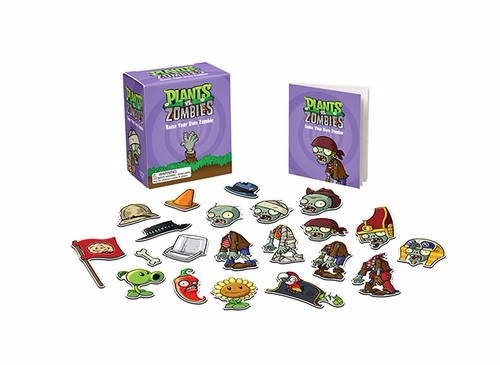 mini coleccionable plants vs zombies create your own zombie