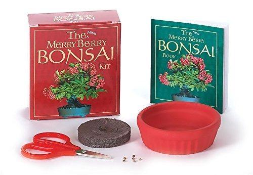mini coleccionable the mini merry berry bonsai kit completo