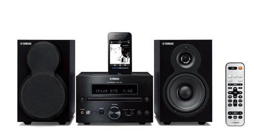 mini componente cd fm ipod iphone yamaha mcr-232 mini hi-fi