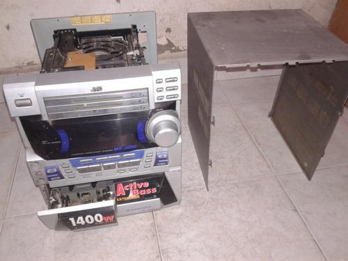 mini componente jvc mod.mx-j200 (para repuesto)