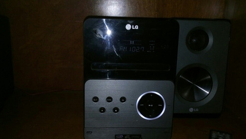 mini componente lg modelo xa66 en excelentes condiciones