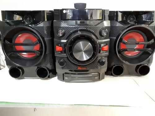 mini-componente x-boom bluetooth lg cm4360