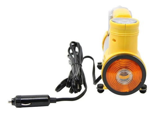 mini compresor 12v con linterna 150 psi metalico carro cicla