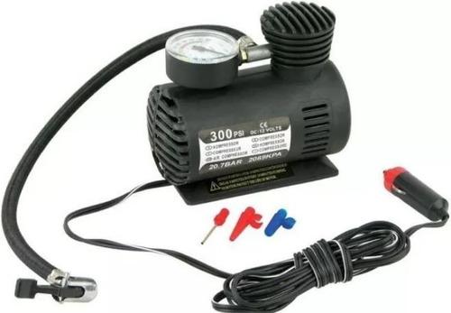 mini compresor de aire para auto 12v 300psi inflar llantas