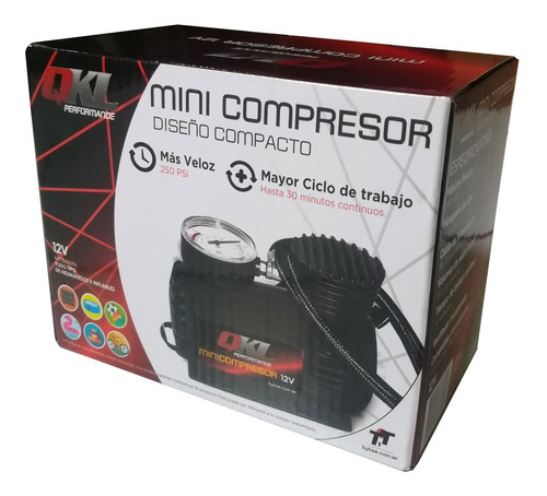 mini compresor inflador