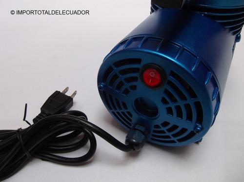 mini compresor para aerógrafos / bajo en ruido / 110 voltios