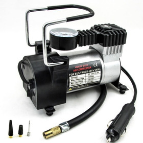Mini Compresor Uso Pesado Infla En 1.5minutos + Bolso Guardado
