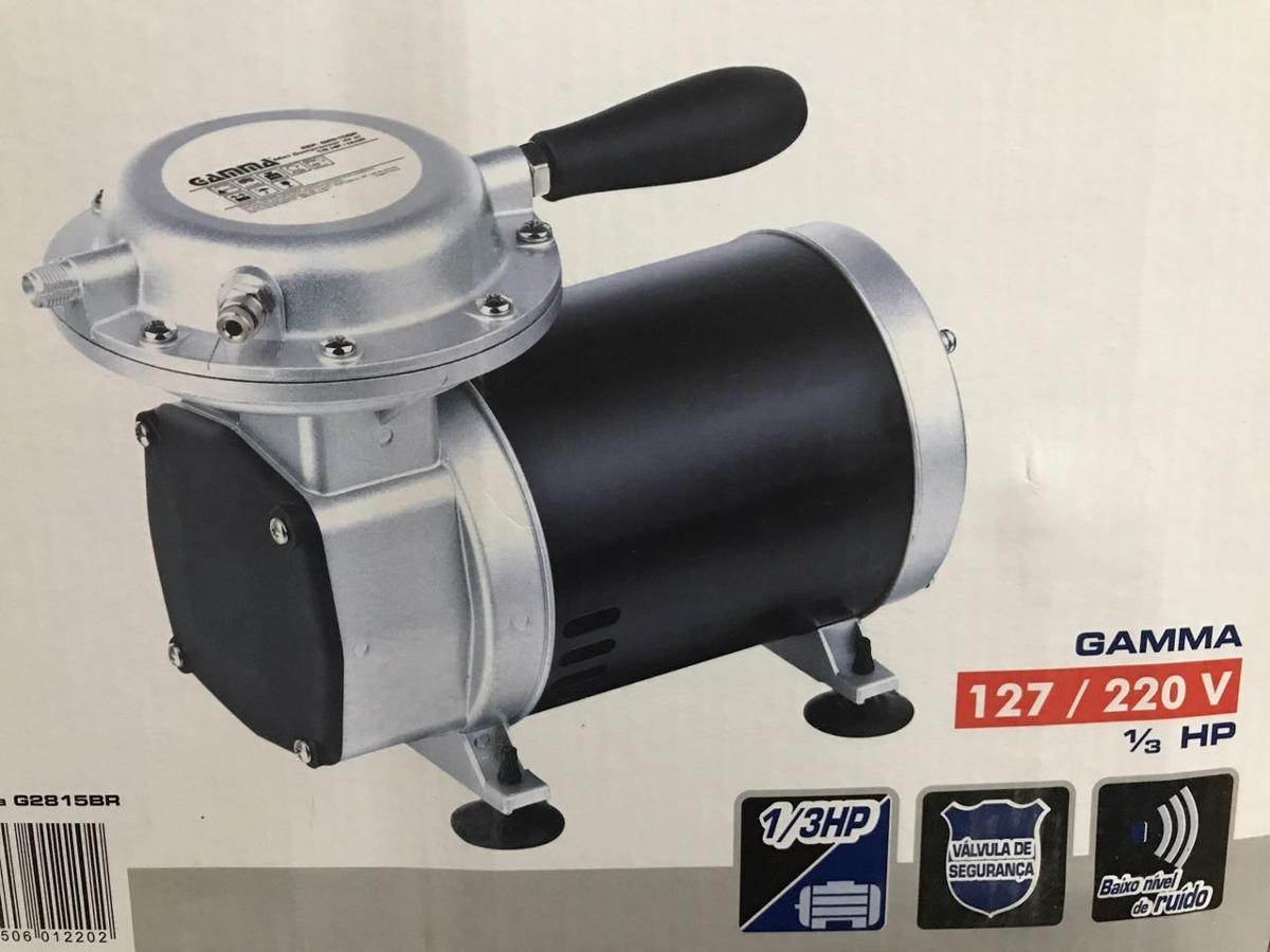 4155b3515 Mini Compressor De Ar Direto De Diafrágma   Tufão - Bivolt - R  477 ...