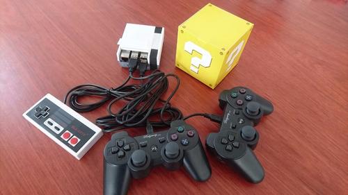 mini consola clasica 2 controles ps3 + control nes de regalo