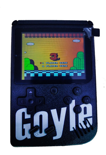 mini consola portatil game box 400 video juegos
