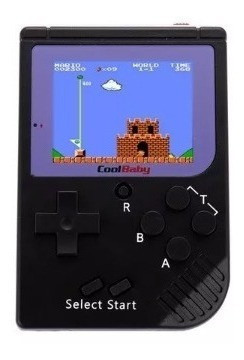 mini consola portátil retro 129 juegos + garantia!