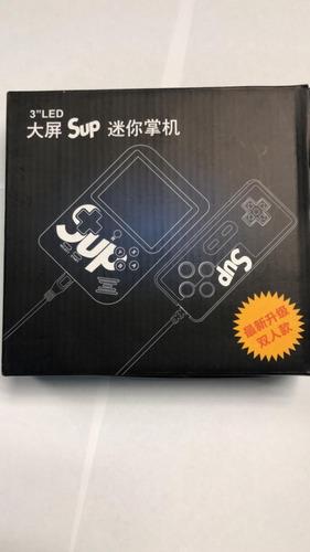 mini consola portatil roja tipo gameboy nintendo 400 juegos