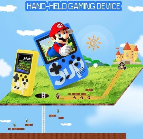 mini consola portatil sup game box 400 juegos