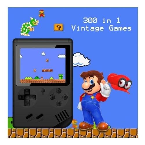 mini consola retro 300 juegos family tft 3¨ color  salida tv