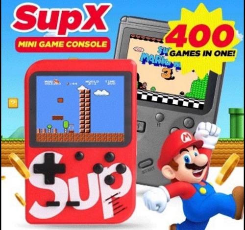 mini consola retro fc 400 juegos