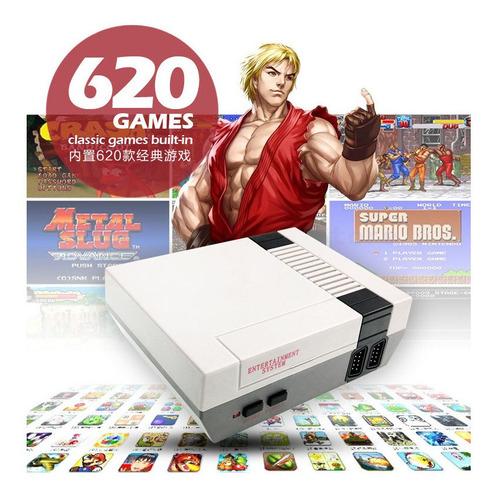 mini consola retro nitendo video juegos cl¿sica 620 mario