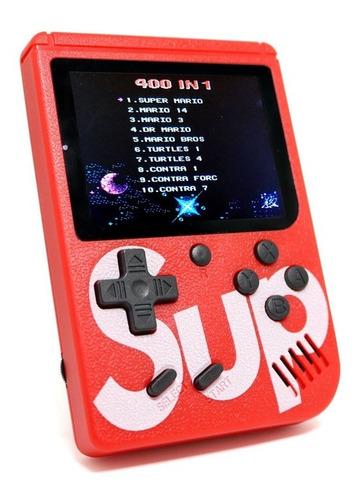 mini consola retro portatil nintendo con 400 juegos