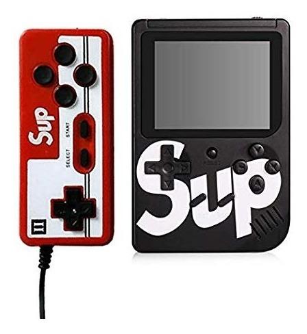 mini consola retro portátil/ sup game 400 juegos en 1+ mando