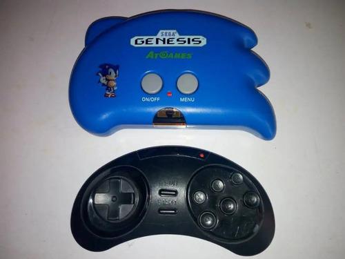 mini consola-sega-genesis-edicion-sonic-con-control-inalambr