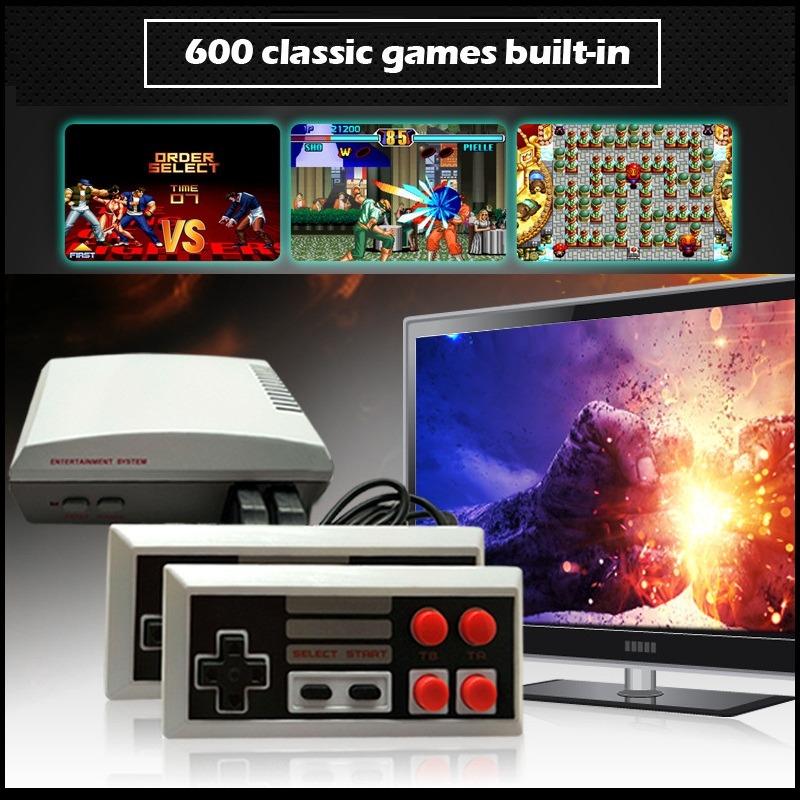 Mini Consola Videojuegos Hdmi Nes 600 Juegos Clasicos 970 82