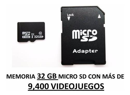 mini consola videojuegos retro 2 ps3 inalámbricos + sd play