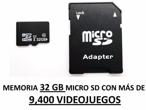 mini consola videojuegos retro 4 ps3 + bluetooth + 2 memoria