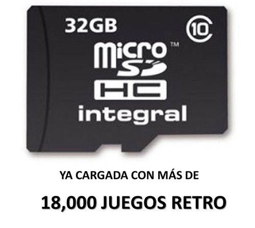 mini consola videojuegos retro memoria extra playstation