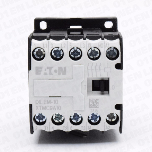 mini contactor 10 amp 24v riel din dilem-10 eaton moeller