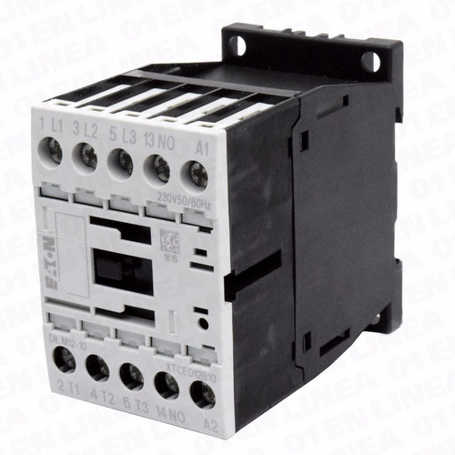 mini contactor 12a amp 220v 5.5kw dilm12-10 eaton moeller