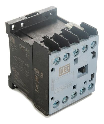 mini contator auxiliar cwca0-22-00v15 10a 2na+2nf 110v weg