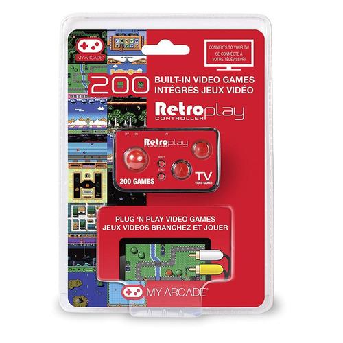 mini control retro con 200 juegos plug and play my arcade
