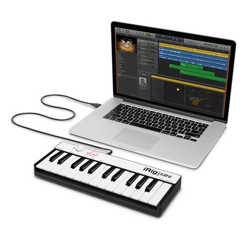 mini controlador 25teclas pc,mac,ios y android ik multimedia