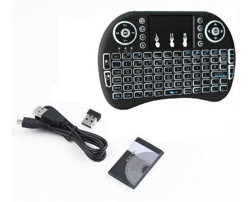 mini controle/keyboard touchpad para televisao e computador