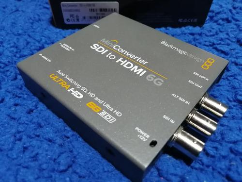 mini convertidor sdi a hdmi 6g blackmagic design