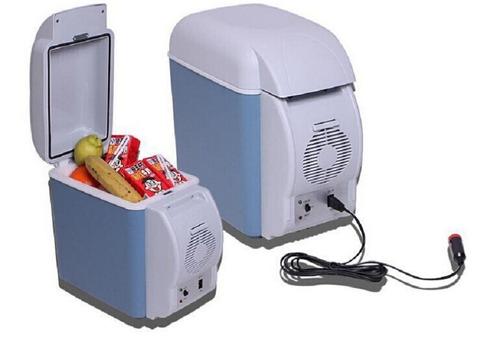 mini cooler geladeira carro 7,5l portatil 12v camping viagem