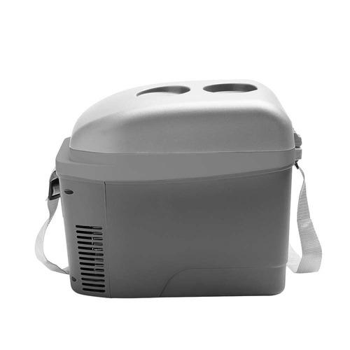 mini cooler multilaser 7l cinza fosco com porta copos 12v
