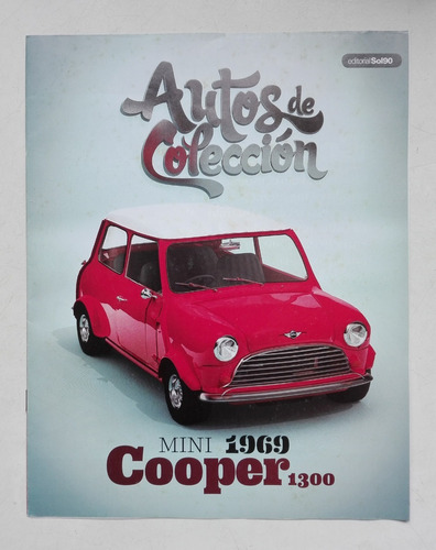 mini cooper 1300 año 1969 esc 1/39 marca welly (60$)