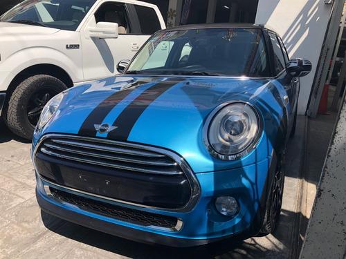 mini cooper 1.5 chili 5 puertas at 2015 azul
